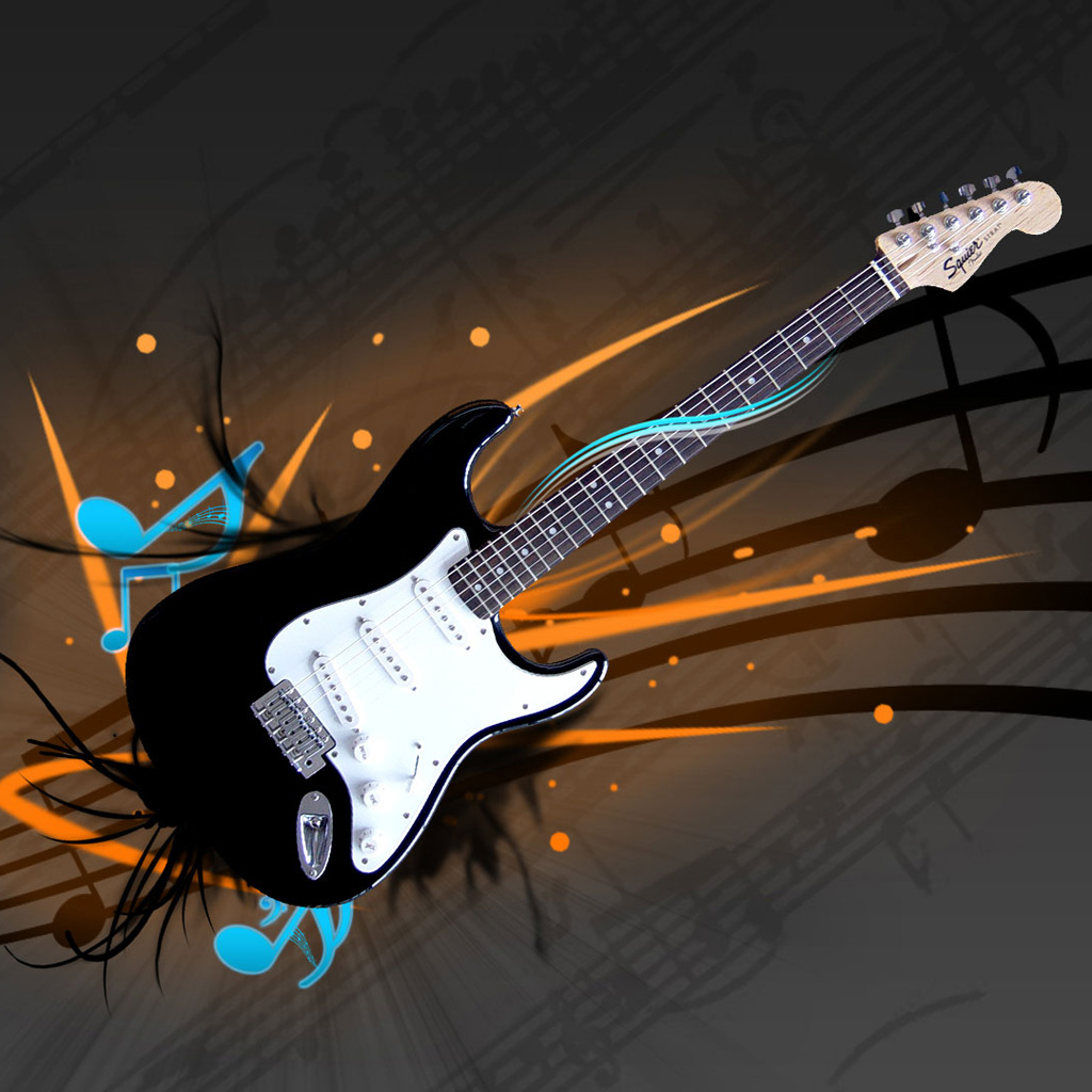 cool guitar wallpaper for - photo #18