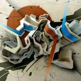 3d abstract work